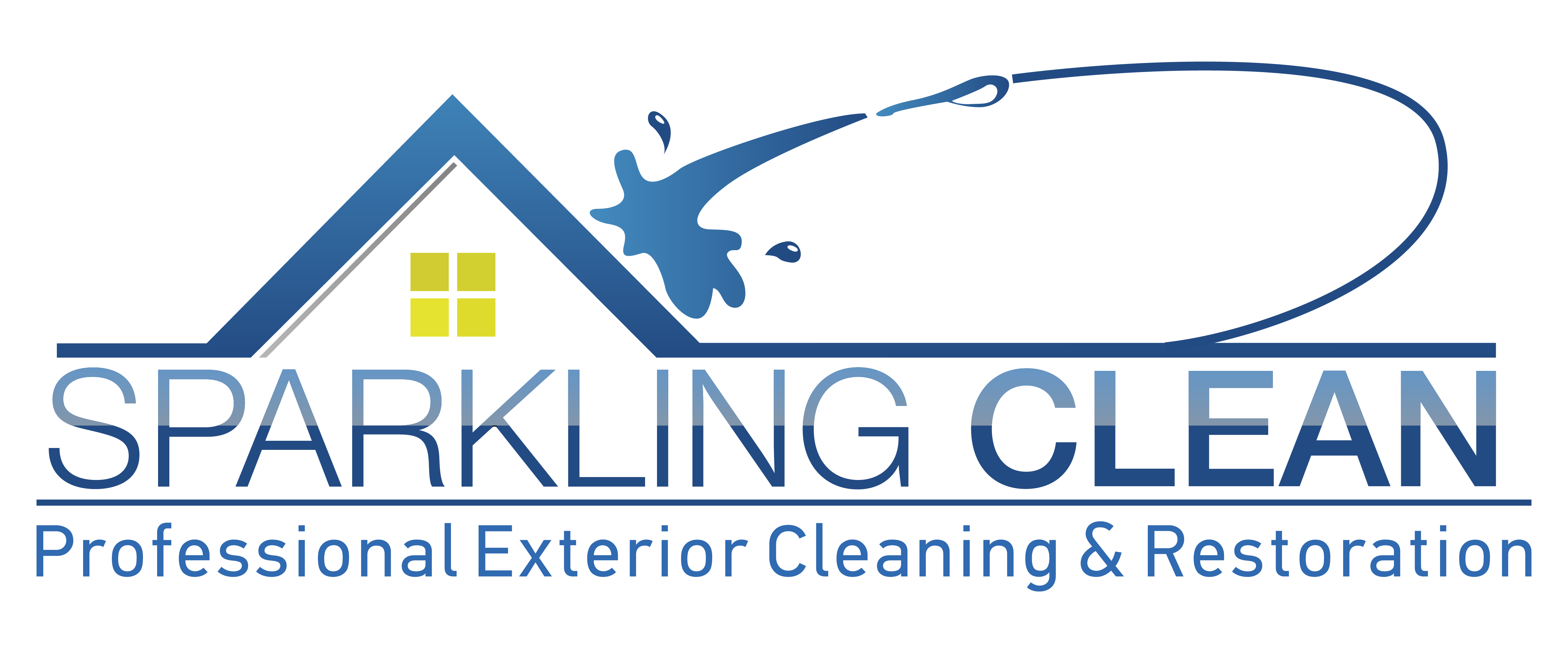 Home sparkling clean Sparkling image roof exterior cleaning